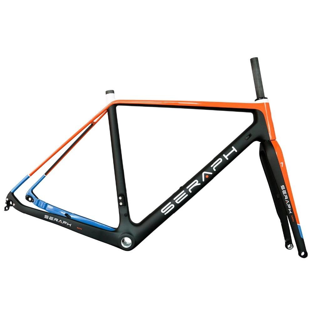 2019 Custom Road/Gravel Bike Carbon Fiber Frame 700C Tyre Full Carbon Gravel Bicycle Frame GR029