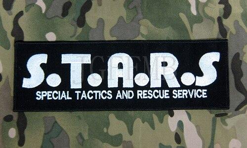 Resident Evil Umbrella Corporation Raton Police Département R.P.D. STARS. arrière Du Corps patch B2800