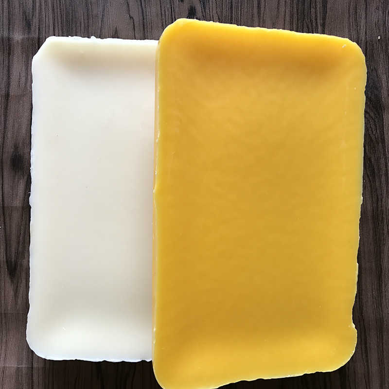 5/1 piezas Amarillo/Blanco/cera de abejas mano 100% BiologicalOrganic Natural filtrada de vela jabón de bálsamo de labio de alta calidad jabón