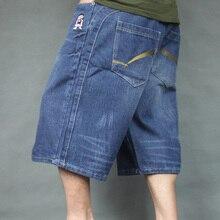 Wholesale&free ship~~%% Men's clothing plus size plus size denim capris fat capris summer loose plus size male trousers