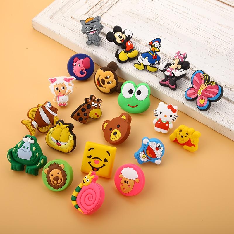 Children protection cartoon soft plastic children for Children s bureau knobs