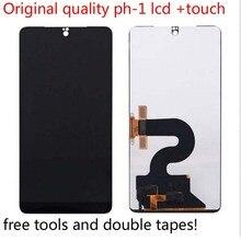 100% 필수 전화 PH 1 LCD 디스플레이 + 터치 스크린 디지타이저 어셈블리 교체 + 도구에 대 한 원래 최고의 품질 5.7 인치 테스트