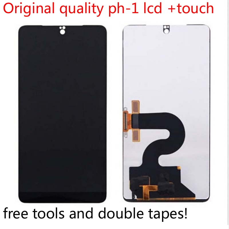 100% Tested Original Best Quality 5.7 inch For Essential Phone PH  1 LCD Display Touch Screen Digitizer Assembly Replacement toolMobile  Phone LCD Screens
