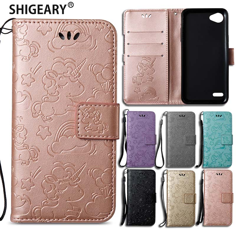 Shigeary case sFor Fundas LG Q6 Case Wallet magnet flip Cover For LG Q 6 Q6 Coque Shock proof Mobile Stand Phone Cases Housing