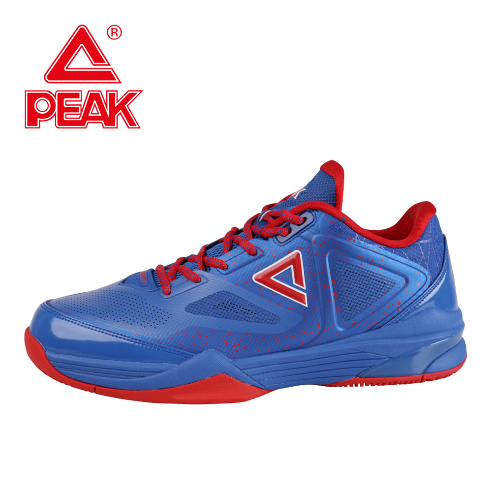 PEAK TPIII Tony Parker Men Basketball Shoes Men Low Top Sports Shoes Athletic Sneakers Training Breathable Cushioning Boots peak sport hurricane iii men basketball shoes breathable comfortable sneaker foothold cushion 3 tech athletic training boots