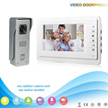 XSL-V70F-M3 1V1 2016 Hot selling7 Inch Family Intercom system Video Door Phone work with electronic lock Intercom System