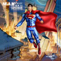 Full set action figure 1/6 Scale Super Alloy The New 52 Superman Play Imaginative PI Collectible Figure for collection