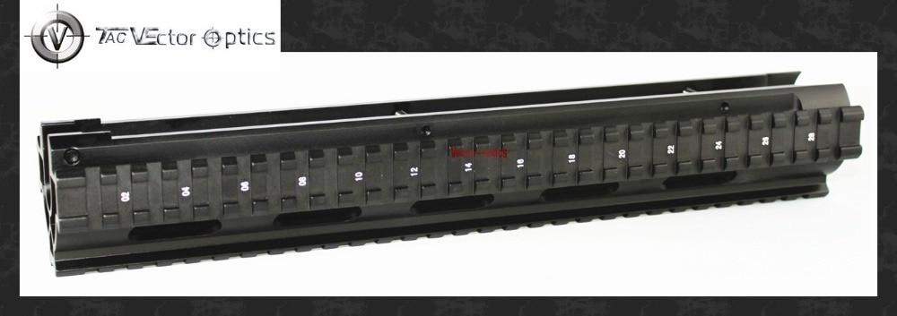 Vector Optics G3 HK91 Tactical Triple Picatinny Weaver Rail Handguard 12'' Mount System