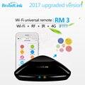 Nova broadlink rm2 rm pro controlador inteligente de automação residencial inteligente wi-fi sem fio + ir + rf interruptor de controle remoto via ios android