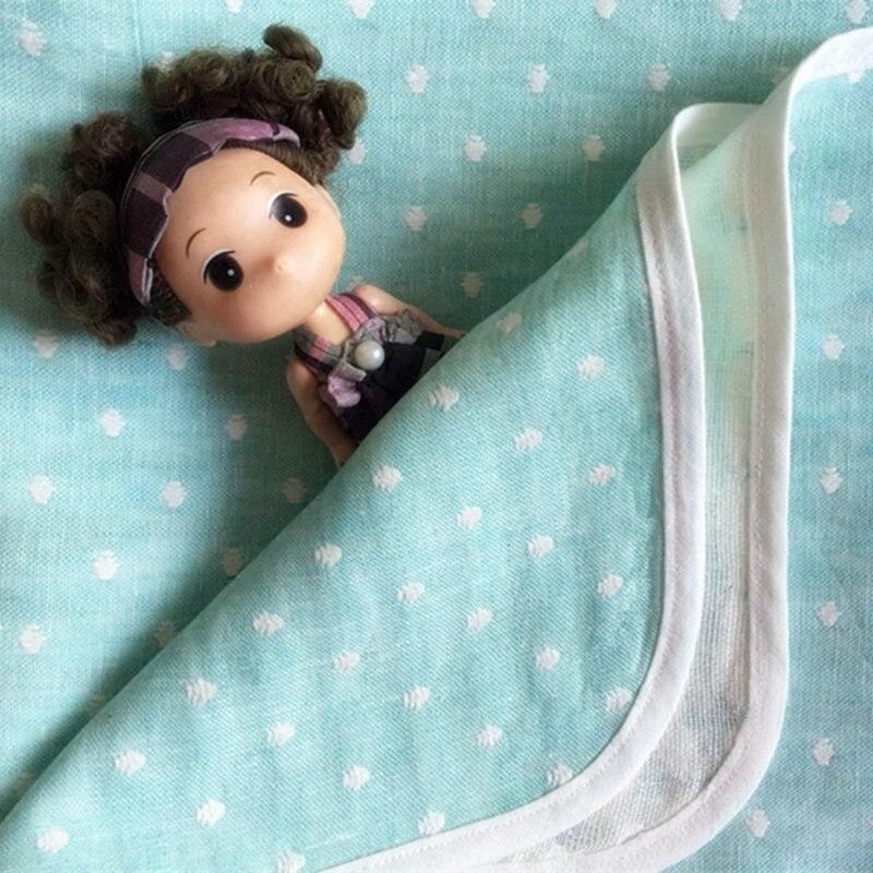 2016 nouvelle couverture de lin français couleur douce Jacquard lavé couvertures et jetés de linge de lit