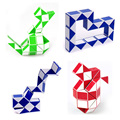 ShengShou New Hot Magic Snake Shape Game 3D Cube Puzzle Twist Puzzle Toy  Children Education Intelligence Toy Free Shipping
