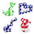 ShengShou Nueva Caliente Forma de La Serpiente Juego 3D Puzzle Cubo Mágico Giro Puzzle Toy Niños Inteligencia Educación Envío Libre del Juguete