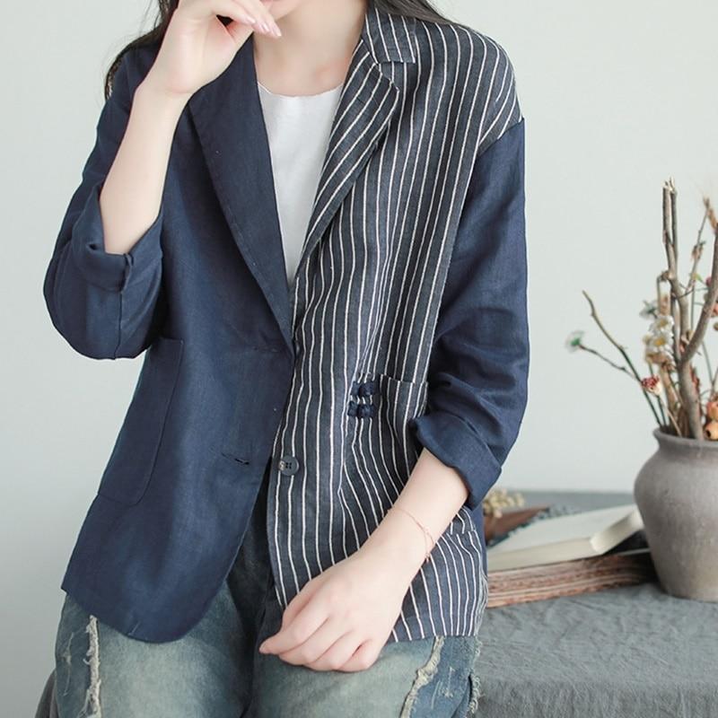 Frauen blazer 2018 gestreiften büro uniform designs frauen business büro kleidung tragen jacke blazer frau 2018 AA4246-in Blazer aus Damenbekleidung bei  Gruppe 1