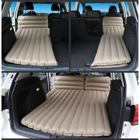 6/4 Flocking Fabric Car Travel Bed Inflatable Bed Mattress For Automobiles Sleeping On Their Own Bicycles