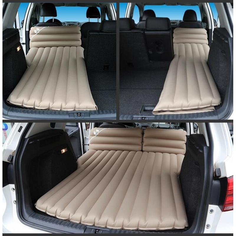 6/4 флокированная ткань кровать для путешествий для автомобиля надувной матрас для кровати для автомобилей, спящих на своих велосипедах Дорожная кровать в авто      АлиЭкспресс