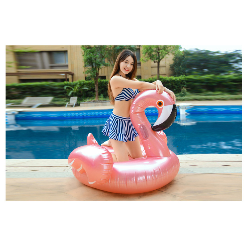2018 Newest Giant Swan Watermelon Floats Flamingo Swimming Ring Inflatable Pool Float For Child&Adult Water Toys RL15-0004