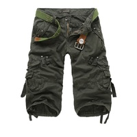 Men S Short 2017 Fashion Summer Calf Length Men Shorts Cotton Casual Mens Military Style Army