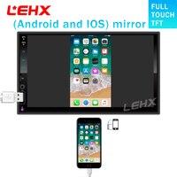 LEHX AUTO RADIO Car MP3 Player Car 7 Inch HD Bluetooth Car MP5 Player Iphone And Android8.0 mirror link Carplay1024X600