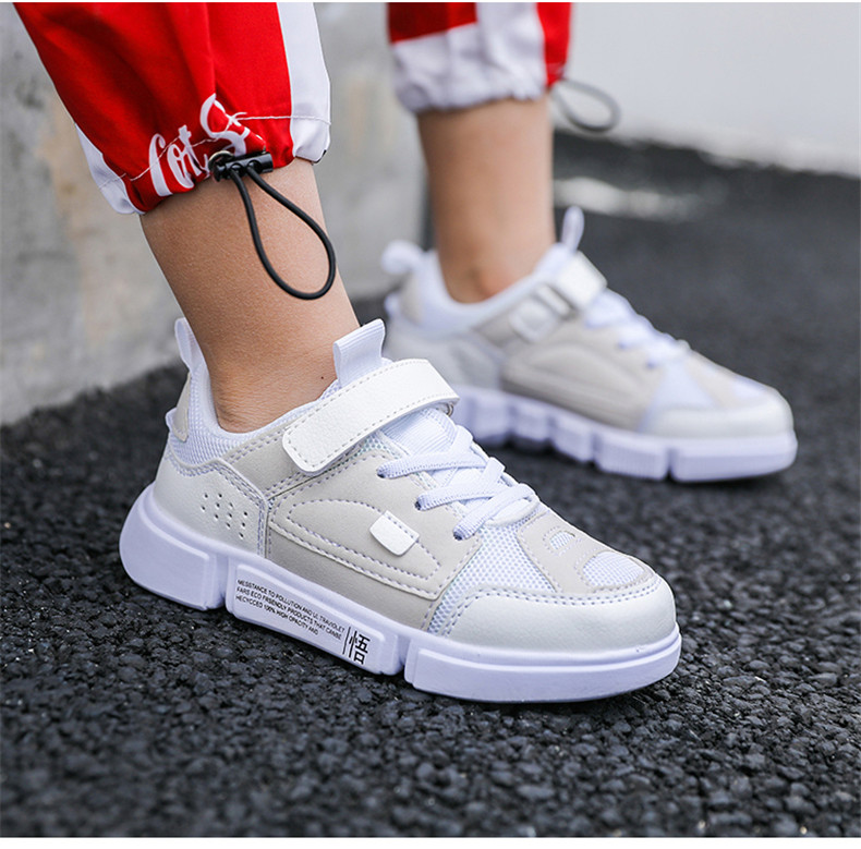 2019 Autumn New Girls Sneaker Kids Shoes Fashion Breathable Pink Leisure Sports Running Shoes For Boys Brand Casual Children Shoes (15)