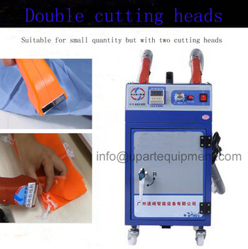 Sewing thread cutting machine for garment factory