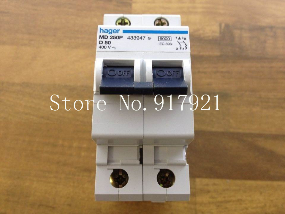 [ZOB] Hagrid MD250P miniature circuit breaker 2P50A  --5pcs/lot 10pdz47 60 c16 ac230 400v1p16a rated current 1 pole miniature circuit breaker qc