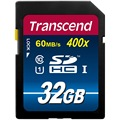 100% Оригинал Transcend SD Card 16 ГБ 32 ГБ 64 ГБ 400X Class 10 UHS-I Карты Памяти Flash для HD DSLR GPS Drive рекордер