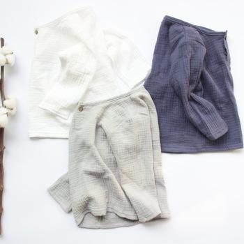 2020 Girls Tshirts Kids cotton Clothes t-shirty dziecięce dla chłopców t-shirty jednolity kolor długi rękaw lato topy pościel tanie i dobre opinie Moda Stałe REGULAR O-neck Tees Pełna Pasuje mniejszy niż zwykle proszę sprawdzić ten sklep jest dobór informacji