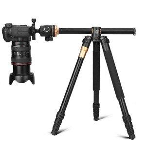 "Image 2 - Q999H yatay Tripod profesyonel kamera düz Tripod _ _ _ _ _ _ _ _ _ _ _ _ _ _ _ _ _ _ _ _ ""taşınabilir kompakt esnek Tripod Canon Nikon Sony DSLR kameralar"