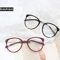 4d47254cf 2018 Fashion Metal Acetate Frame Glasses Colorful Round Women Glasses Frame  Eyeglasses Frame Vintage Round Clear. 2018 Moda de Metal + Acetato Quadro  Óculos ...
