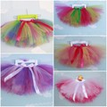 New Baby Girl Handcraft Pettiskirt Colorful Girls' Fluffy Tutu Gauze Skirt Ball Gown Ballet Dance Skirt Party Skirts 9 Colors