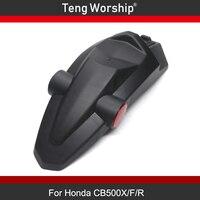 Motorcycle For HONDA CB500X CB500F CBR500R CB500R Rear Mudguard ABS Fairing FENDER Rear Extender Extension