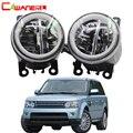 Cawanerl для Land Rover Range Rover Sport LS закрытый внедорожник 2006-2013 Автомобиль H11 светодио дный лампа противотуманная фара + Ангел глаз DRL 12 В в