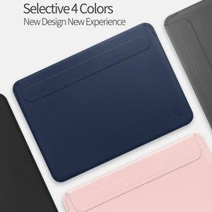 Image 5 - WIWU Mới Nhất Laptop Cho Macbook Air 13 Ốp Lưng Chống Nước Laptop Túi Ốp Lưng Cho Macbook Pro 13 15 Da PU túi Đựng Máy Tính Xách Tay Ốp Lưng