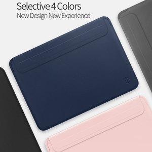 Image 5 - WIWU Neueste Laptop Sleeve für MacBook Air 13 Fall Wasserdichte Laptop Tasche Fall für MacBook Pro 13 15 PU Leder notebook Tasche Fall