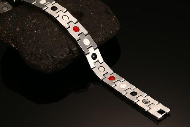 Фото мужские браслеты высокого качества из нержавеющей стали магниты цена