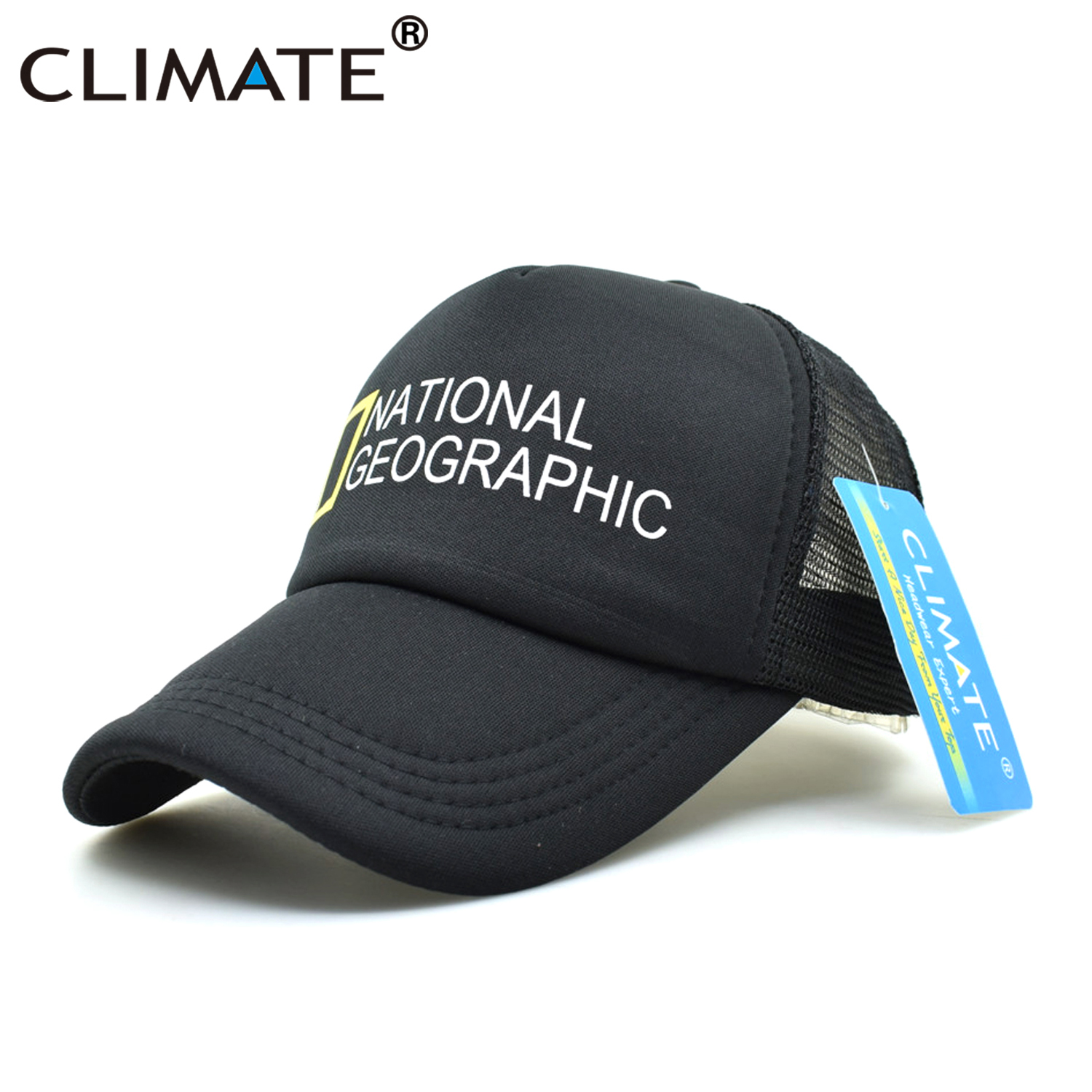 KLIMAAT Heren New Trucker Caps National Geographic Channel Hot Summer - Kledingaccessoires - Foto 4