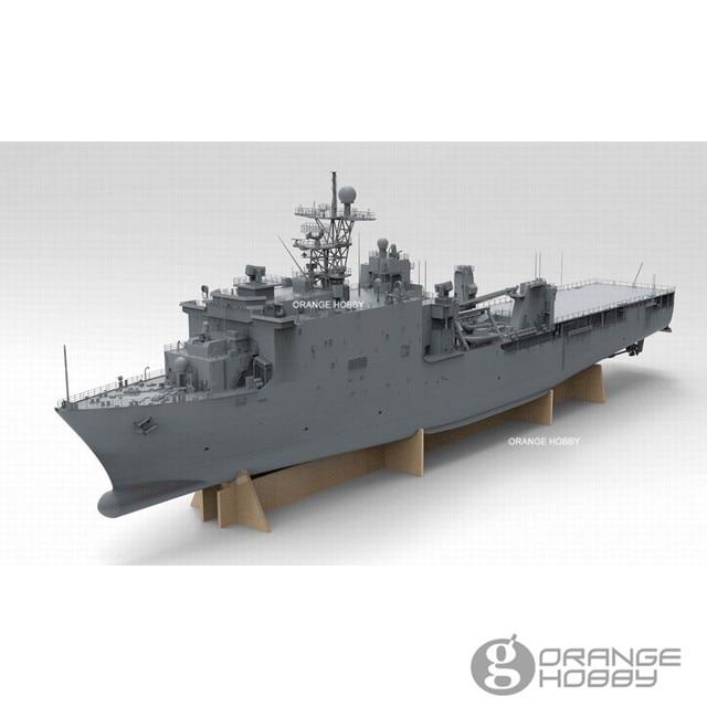 6b9a8ad4edcc OHS OrangeHobby N03130 1 350 U.S.S USS LSD-49 Dock Landing Ship Assembly  Navy