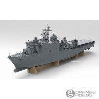 OHS OrangeHobby N03130 1/350 USS ЛСД 49 док десантный корабль сборки темно модель Наборы о