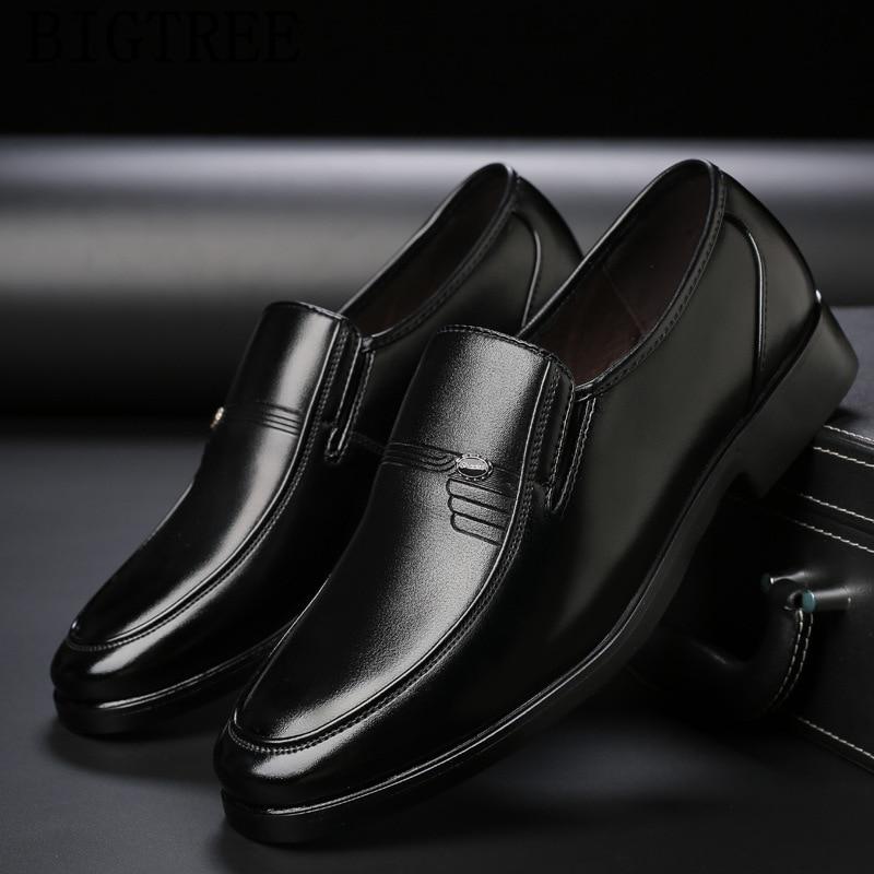 0c2cec9690 Baba Ayakkabı Loafer'lar Erkek Erkek Resmi Ayakkabı Deri Lüks Elbise  Ayakkabı Erkekler Resmi Zapatos De Hombre Rahat De Vestir Chaussure Homme  ...