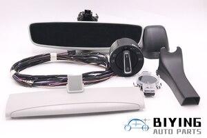 Image 1 - Auto headlight switch+Rain Light Wiper Sensor Dimming Rear View Mirror For VW Golf 7 MK7