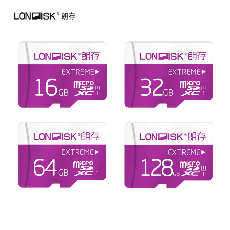 Londisk  Micro SD Card 8GB 16GB 32GB 64GB 128GB Class10 UHS-1 Flash Memory Card MicroSD TF  Card for Smartphone Pad Camera maxchange micro sd tf memory card red 8gb class 10