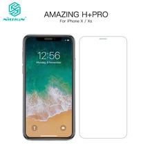 Nillkin сенсорный экран протектор для iPhone X Amazing H + PRO закаленное стекло 9h Защитная пленка для iPhone XS экран протектор