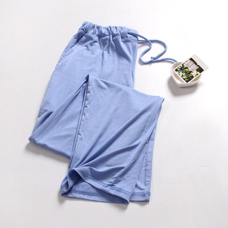 Pajama Pants Women Cotton Pajama Pants Derlook Trousers Modal Thin Sleep Bottoms