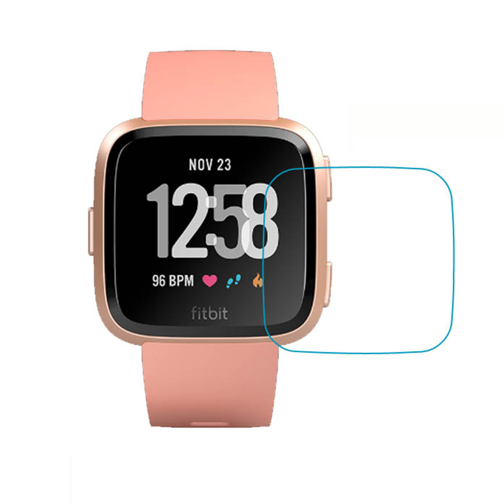 3PCS Explosion-proof TPU HD Full Cover Screen Protector Film For Fitbit Versa Smart Watch
