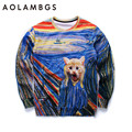 Men/women 3d sweatshirts new designed hoodies funny print animals cat colorful striped autumn tops pullover sporting tracksuits