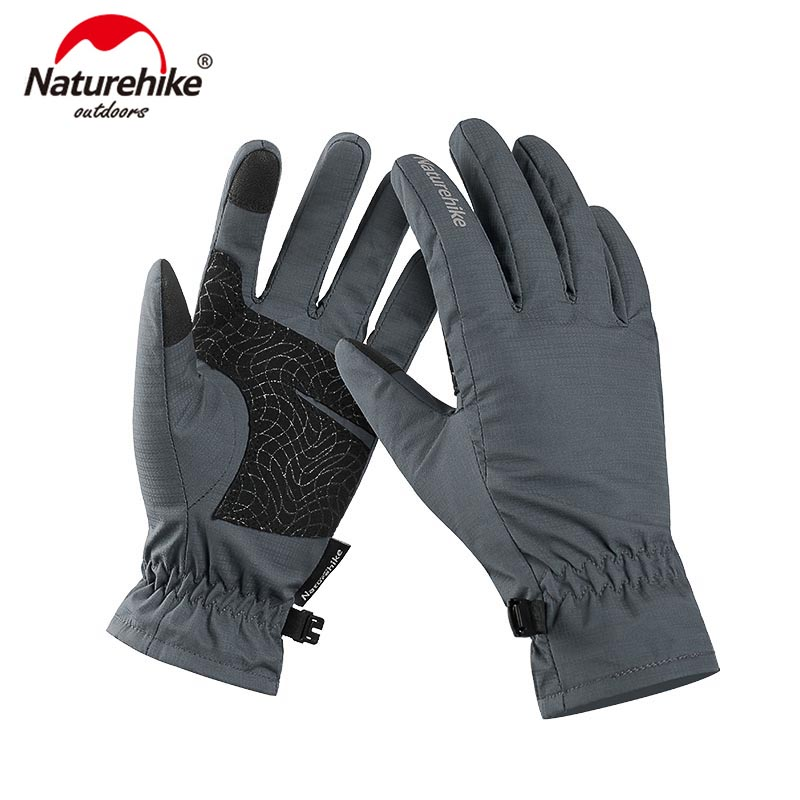 Naturehike GL-04 Touch Screen Gloves Outdoor Wnter Warm Cycling Gloves Windproof Hiking Gloves NH18S005-T