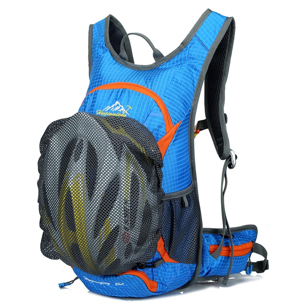 15L Ultralight Unisex Bicycle Cycling Rucksack Backpack <font><b>Hydration</b></font> Pack Men Women Outdoor Water Bag Camping Trekking Climbing Bag