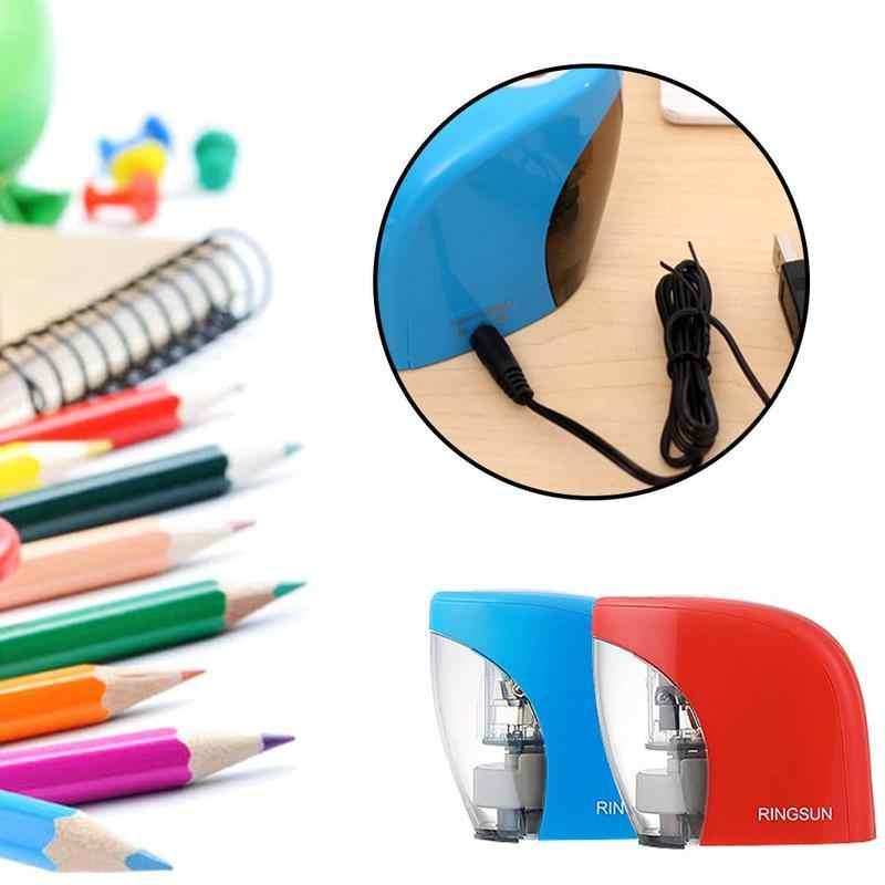 التلقائي الكهربائية براية أقلام لوازم مكتبية المدرسة مبراة ل 8 مللي متر رصاص 32 بوصة شاحن بطارية Usb بالطاقة