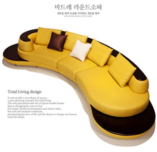 Living Room Sofa set sofa real genuine cow top leather sectional sofas minimalist modern muebles de sala moveis para casa цена
