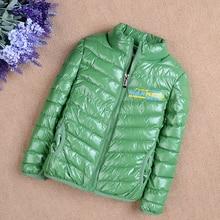 New 2016 Fashion Children's Winter Jackets Boys Hooded Coat Girls Warm Parkas Children Outerwear Winter Coats Wadded Jacket